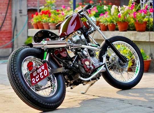 Тюнинг мотоциклов своими руками