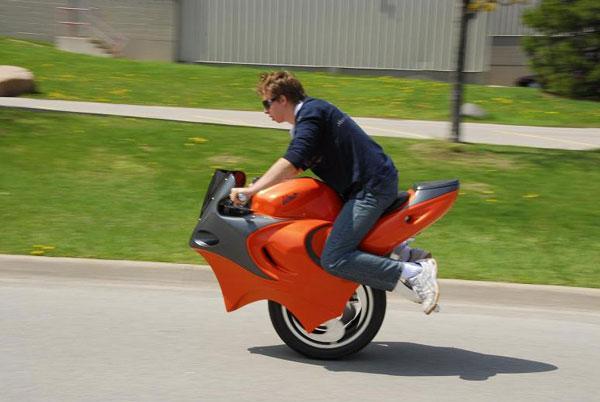 Одноколесные мотоциклы