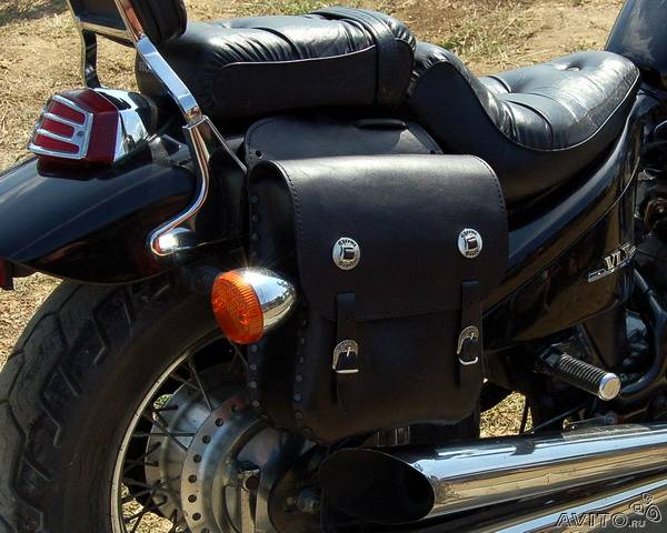 Сумки на мотоцикл своими руками