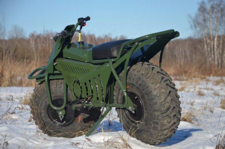 Полноприводные мотоциклы