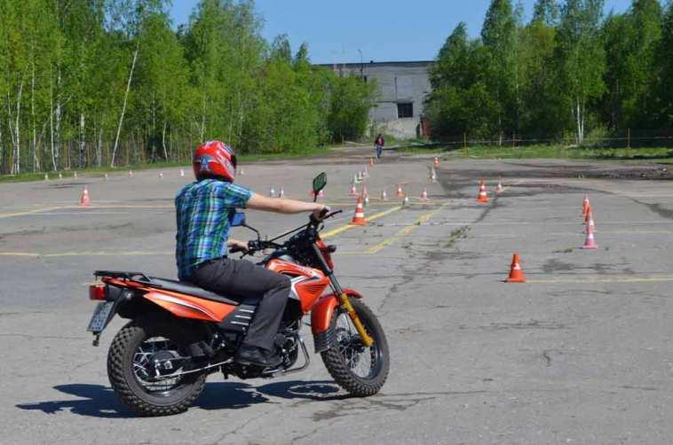 Права на кроссовый мотоцикл