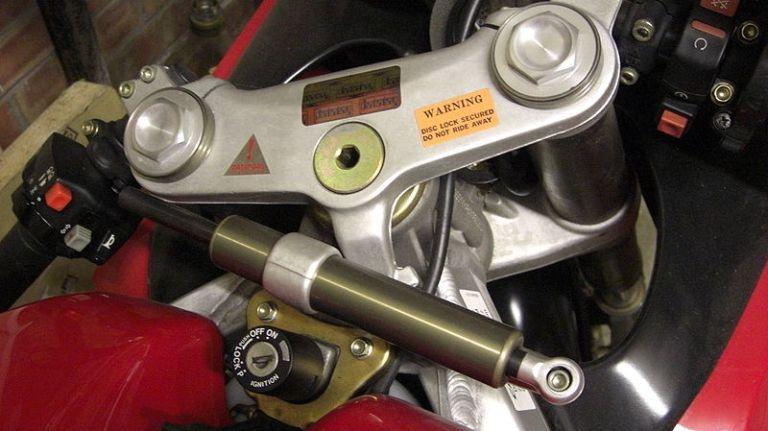 Рулевой демпфер на мотоцикл своими руками 55