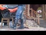Как вывесить заднее колесо на мотоцикле, если нет центральной подставки