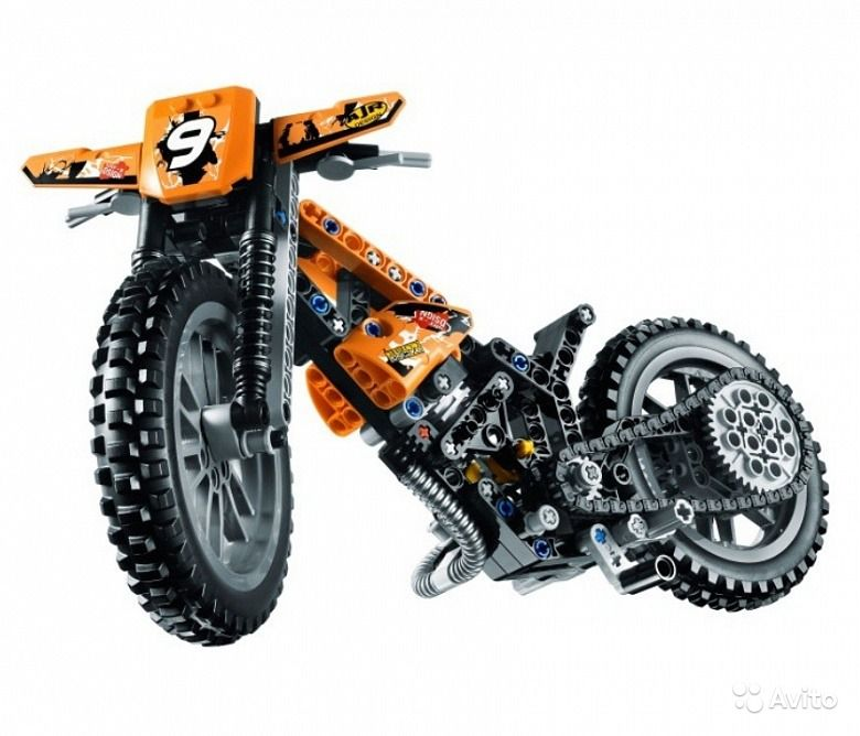 Преимущества сборки мотоцикла из лего