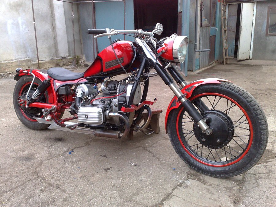 Тюнинг мотоцикла Урал на фото 1