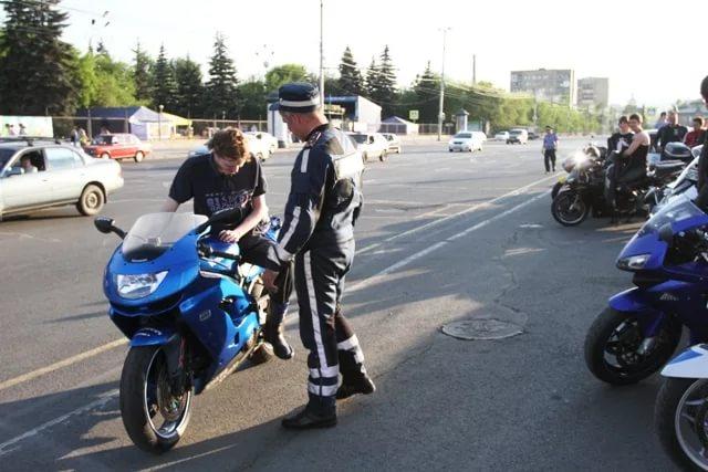 Категория прав на вождение мотоцикла