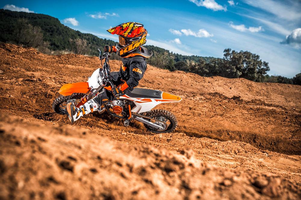 Детский мотоцикл КТМ 50 SX