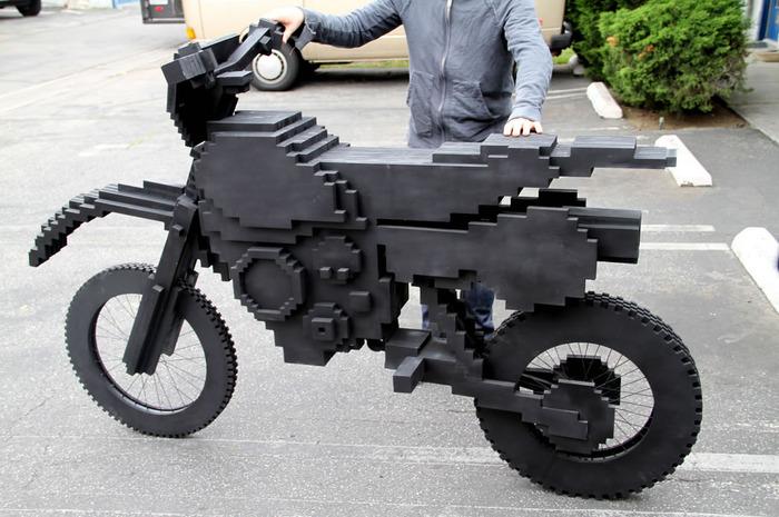 Какие мотоциклы можно сделать из лего