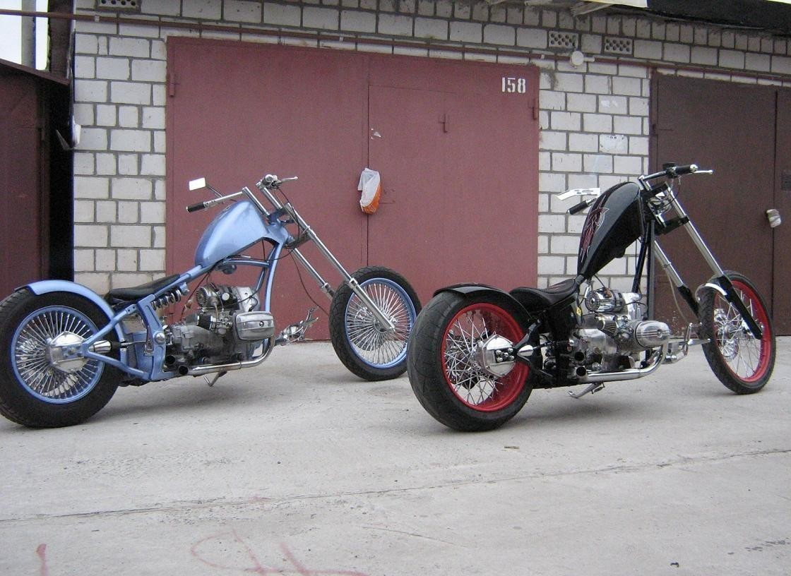 Тюнинг мотоцикла Урал на фото 6