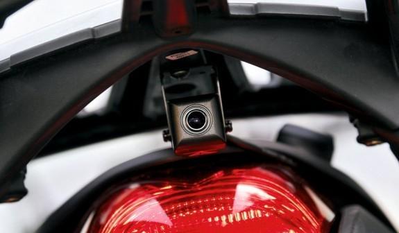 Установка видеорегистратора под фару мотоцикла