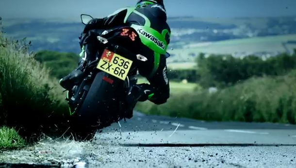 Рекламные ролики о продукции Kawasaki вышли в финал профессионального конкурса.