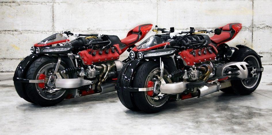 Летающий мотоцикл Lazareth LMV 496 покажут через несколько месяцев
