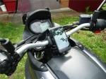 Как закрепить телефон на мотоциклах