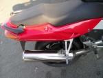 Прямоточный глушитель на мотоцикл