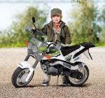 Электрический детский мотоцикл для маленького гонщика