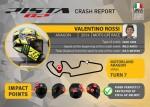 Компания AGV опубликовала отчет о своем шлеме в котором был при аварии Вале Росси