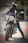 Растет количество девушек-мотоциклисток