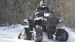 Квадроцикл на гусеницах vs снегоход
