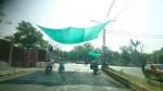Тень у светофора в Индии