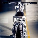 Мотоцикл, распечатанный на 3D-принтере