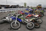 В США раздавили мотоциклы