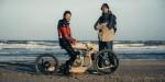 Новый деревянный мотоцикл, работающий на водорослях