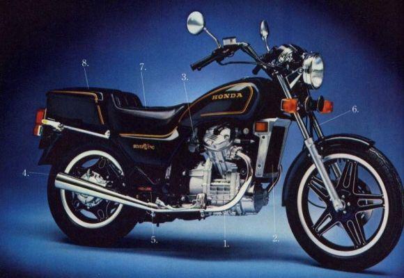 Фотография GL500 Silverwing (1977)