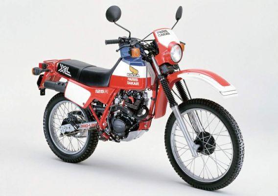 Фотография XL125R Paris Dakar Limited Edition (1983)