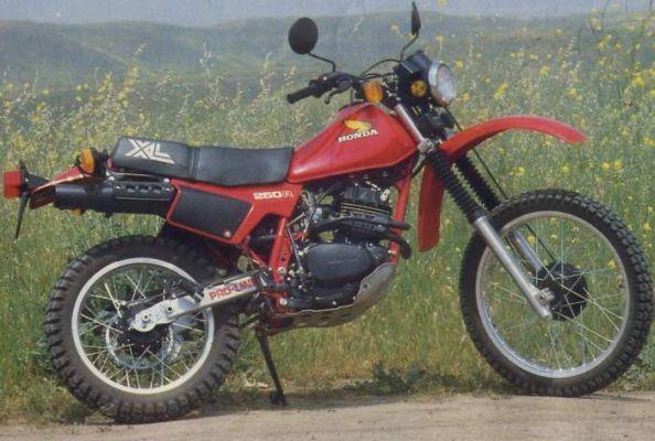 Фотография XL250R (1982)