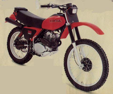 Фотография XR250R (1979)