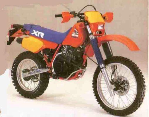 Фотография XR350R (1984)
