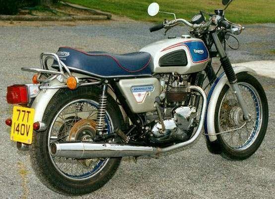 Фотография Bonneville 750 T140V Silver Jubilee (1977)
