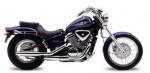 Мотоцикл VT600CD (Deluxe): Эксплуатация, руководство, цены, стоимость и расход топлива