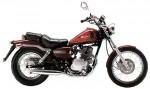 Информация по эксплуатации, максимальная скорость, расход топлива, фото и видео мотоциклов CA 125 Rebel