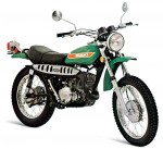 Информация по эксплуатации, максимальная скорость, расход топлива, фото и видео мотоциклов TS250K (1973)
