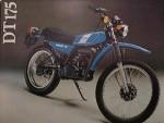 Мотоцикл DT175MX (1977): Эксплуатация, руководство, цены, стоимость и расход топлива