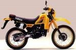 Мотоцикл DT200R (1984): Эксплуатация, руководство, цены, стоимость и расход топлива
