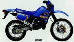 Мотоцикл DT200R (1990): Эксплуатация, руководство, цены, стоимость и расход топлива