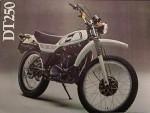 Информация по эксплуатации, максимальная скорость, расход топлива, фото и видео мотоциклов DT250 (1978)
