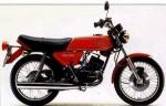 Мотоцикл RD 125DX (1978): Эксплуатация, руководство, цены, стоимость и расход топлива