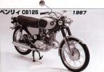 Мотоцикл CB125 Benly (1967): Эксплуатация, руководство, цены, стоимость и расход топлива
