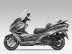Информация по эксплуатации, максимальная скорость, расход топлива, фото и видео мотоциклов FJS400 Silverwing T (2009)