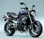 Мотоцикл Street Triple 675 (2012): Эксплуатация, руководство, цены, стоимость и расход топлива