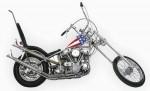 Мотоцикл Easy Rider (Captain America Chopper) (1969): Эксплуатация, руководство, цены, стоимость и расход топлива