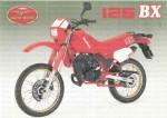Мотоцикл 125 BX (1985): Эксплуатация, руководство, цены, стоимость и расход топлива
