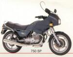 Мотоцикл 750SP (1988): Эксплуатация, руководство, цены, стоимость и расход топлива
