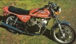 Мотоцикл 500GT (1977): Эксплуатация, руководство, цены, стоимость и расход топлива
