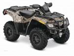 Мотоцикл Outlander 500 EFI XT (2010): Эксплуатация, руководство, цены, стоимость и расход топлива