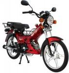 Информация по эксплуатации, максимальная скорость, расход топлива, фото и видео мотоциклов Hyena 100 X (2012)